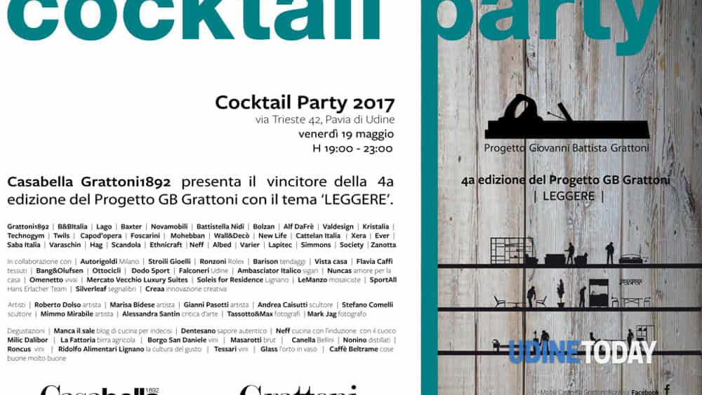 Mobili Casabella Udine.Casabella Cocktail Party 2017 Eventi A Udine